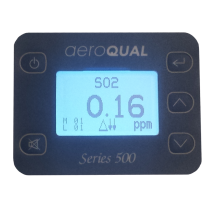 Replacement LED display for the portable Aeroqual units