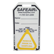 SafeAir Badge prior to testing.