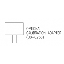 Calibration Adapter/Rain Sheld for the C12-17