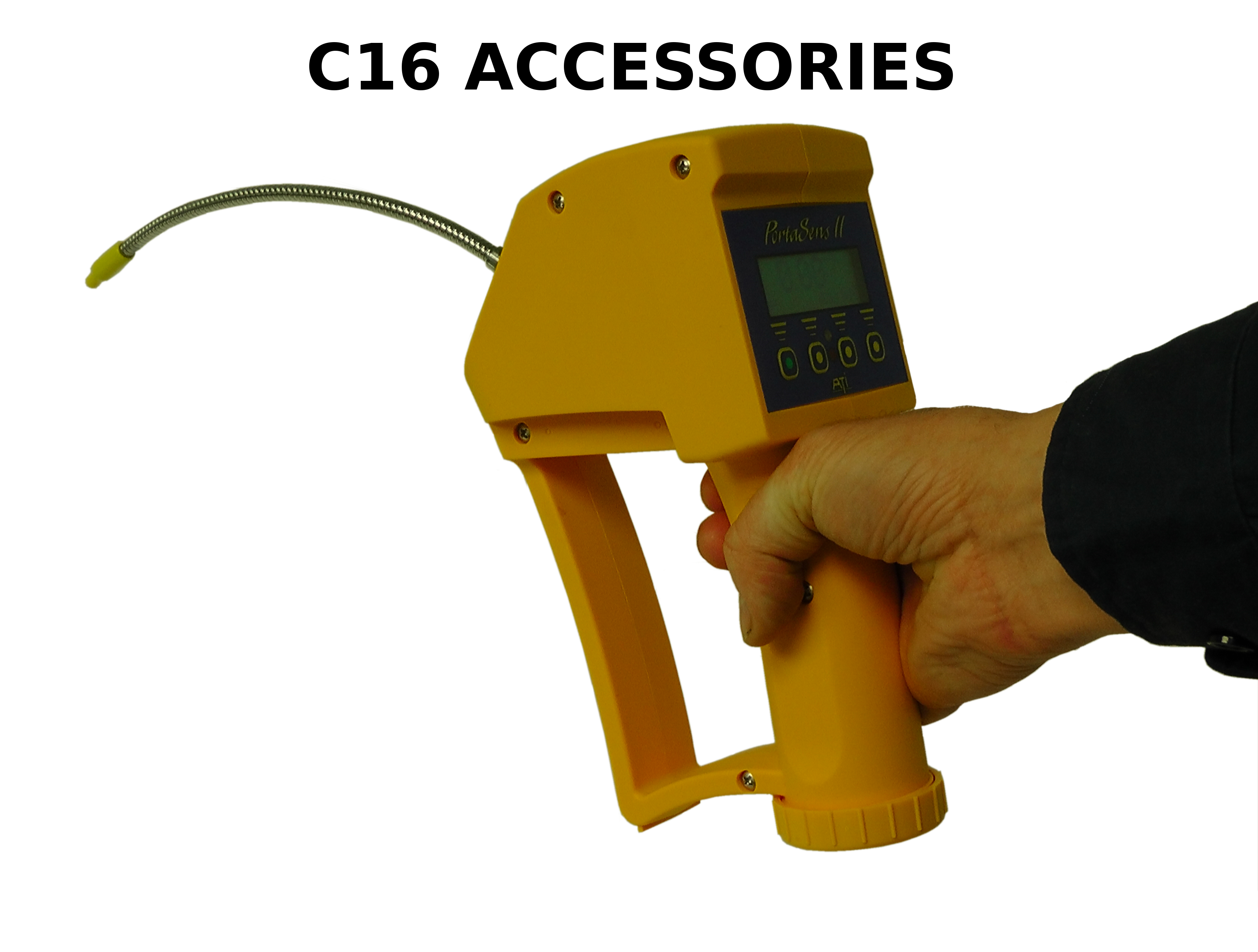 Accessories and spare parts for the C16