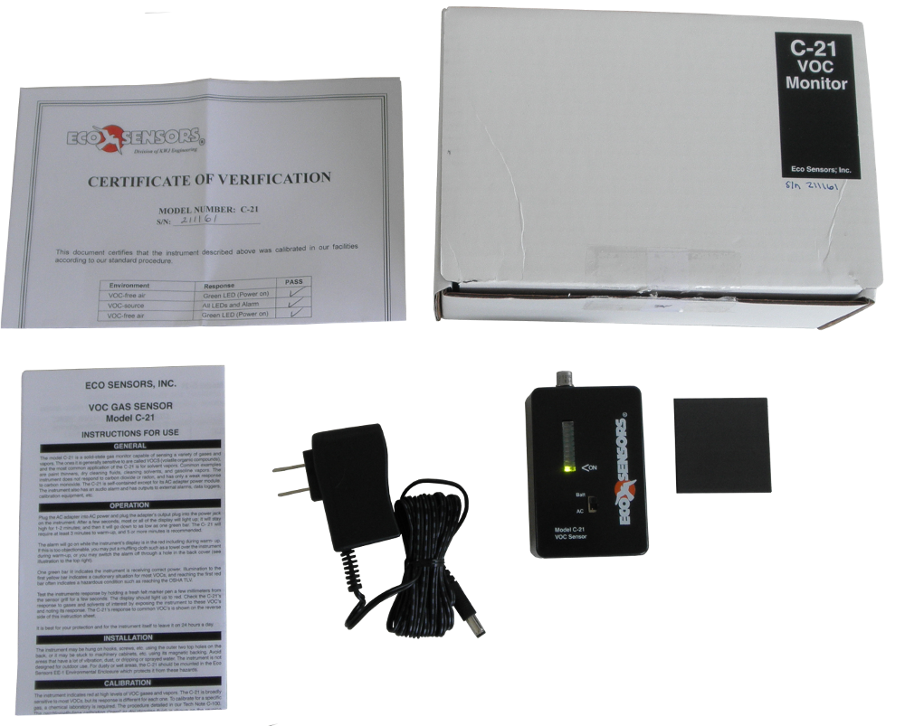C-21 VOC Sensor Package