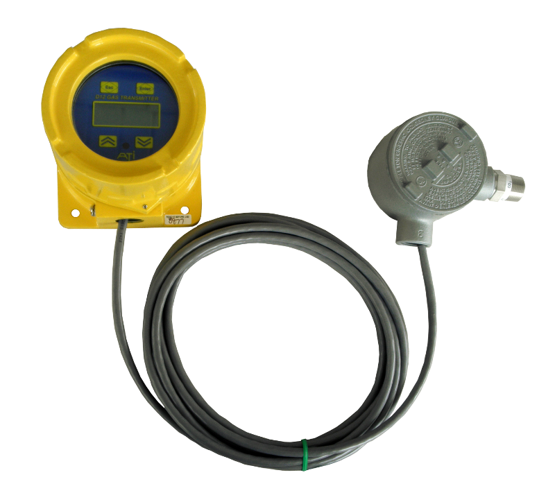 D12-IR comes in a corrosion resistant enclosure using the compact IR sensor to meet hazardous area requirements
