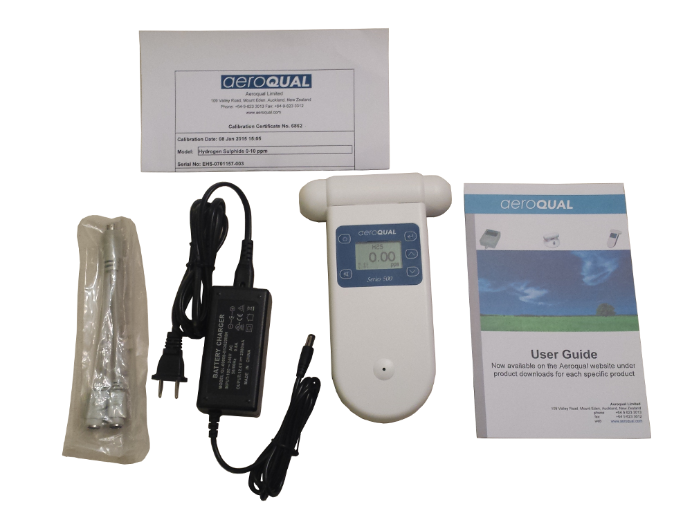 Everything that comes with the Aeroqual Series-500