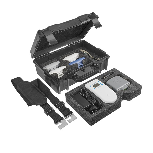 Everything that comes with the Aeroqual Indoor Portable Monitor Pro Kit