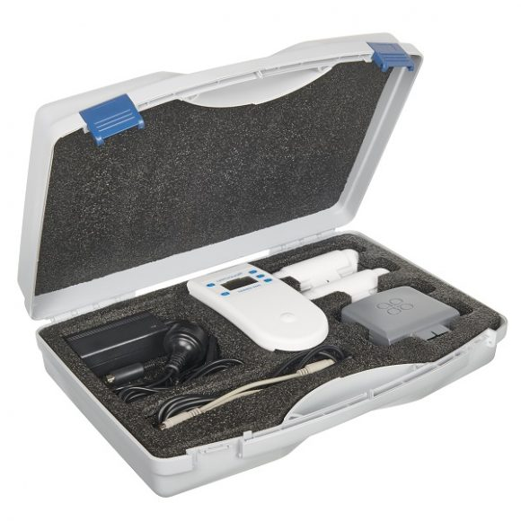 Everything that comes with the Aeroqual Indoor Portable Monitor Starter Kit